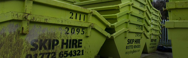 Trade Skip hire for building sites