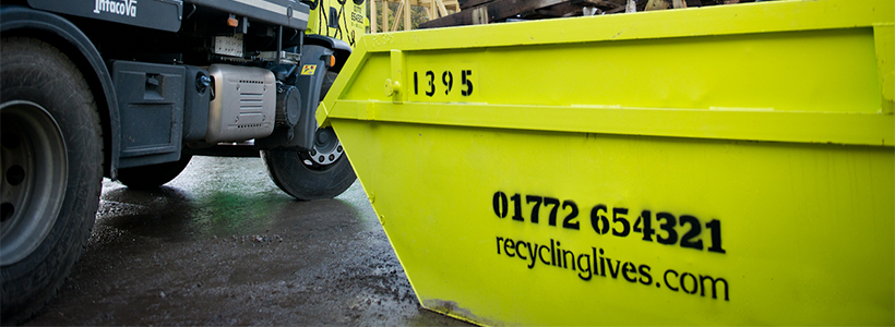green skip at skip hire network