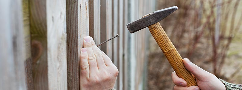 fixing fence