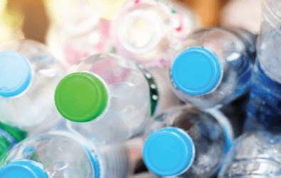 plastic bottles waste processing