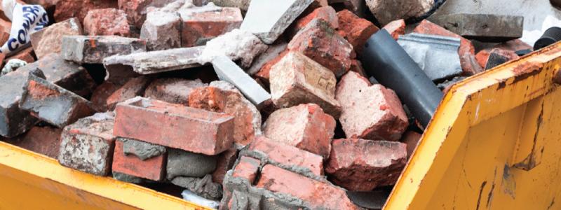bricks skip
