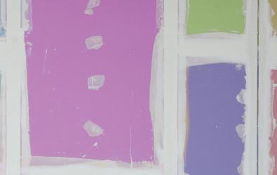 colourful plasterboard